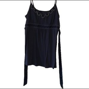 American Eagle Outfitters Beaded Camisole w/ Bow
